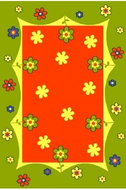 dywan Łączka zielony